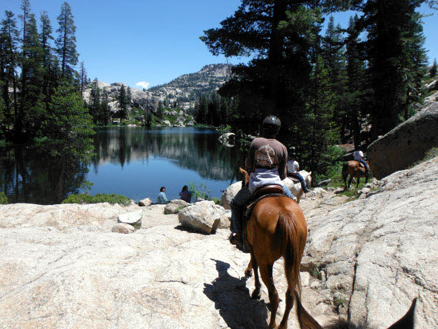Camp Lake in the Emigrant Wilderness