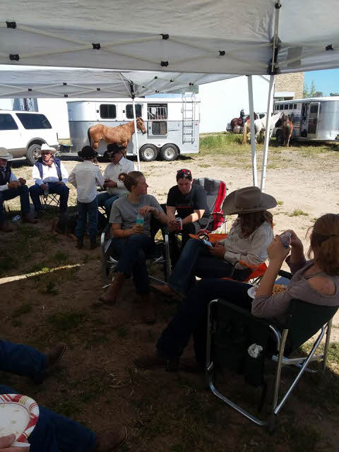 Cowboys eating lunch 16