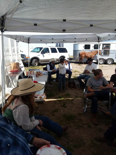 Cowboys eating lunch 18